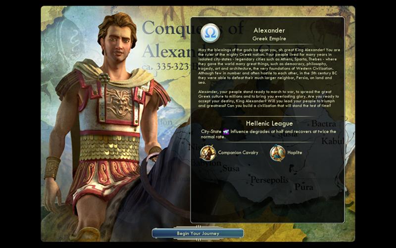 Civilization 5 - le rapport de partie (de la mort) (1/6)