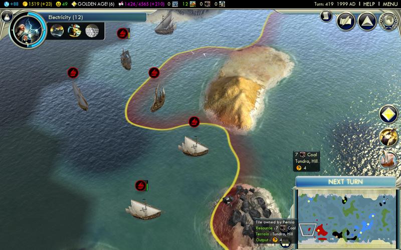 Civilization V - Rapport express (4/6)