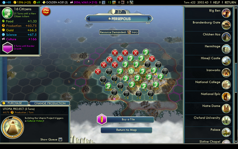 Civilization V - Rapport express (2/6)