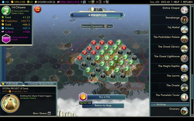 Civilization V - Rapport express (3/6)