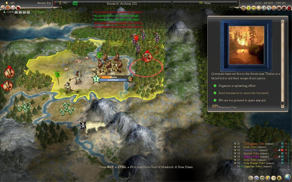 Civilization 4: Rise of Mankind - le rapport de partie (de la mort aussi) (5/6)