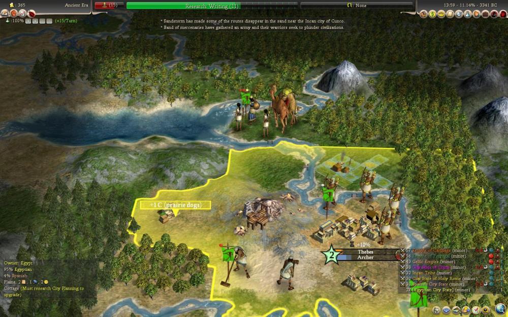Civilization 4: Rise of Mankind - le rapport de partie (de la mort aussi) (6/6)
